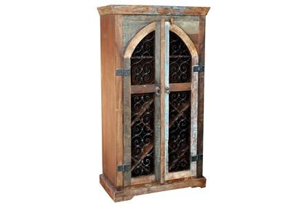 Railroad Wine Cabinet