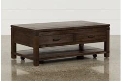 Livingston Coffee Table W/Drawers
