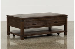 Livingston Coffee Table W/Drawers