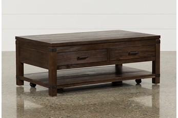 Livingston Coffee Table With Drawers