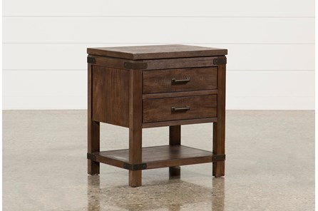 Livingston 2-Drawer Nightstand - Main