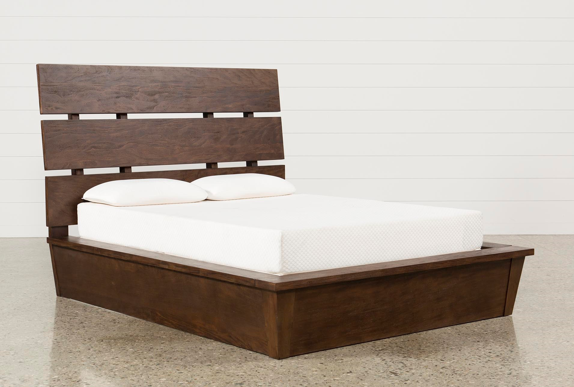 Livingston Eastern King Panel Bed | Living Spaces