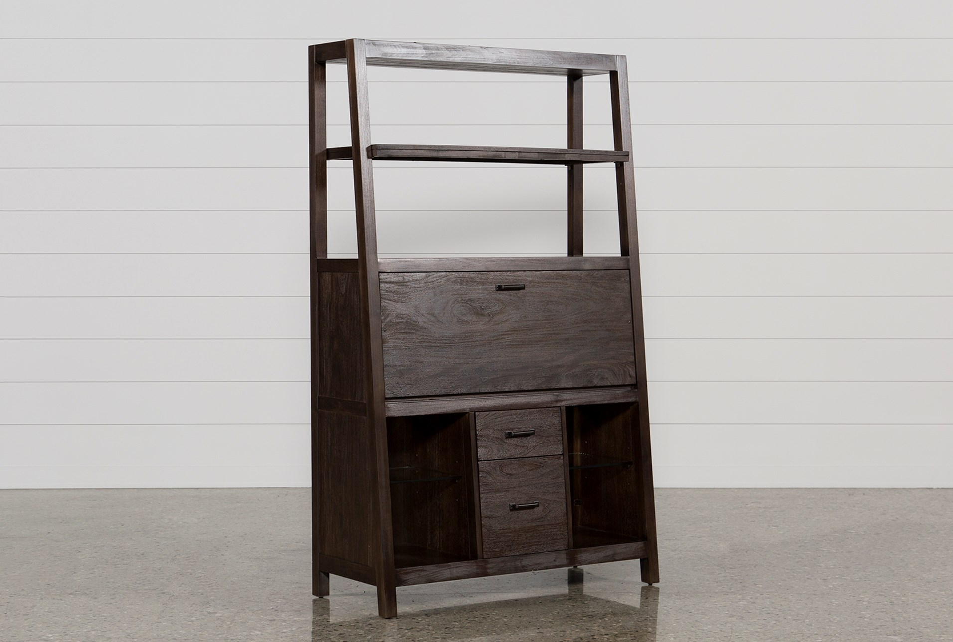 down desk copy mounted wood wall grindstone mount drop products secretary reclaimed from design front web made