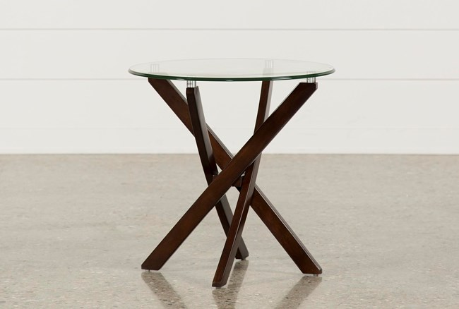 Brisbane Round End Table - 360