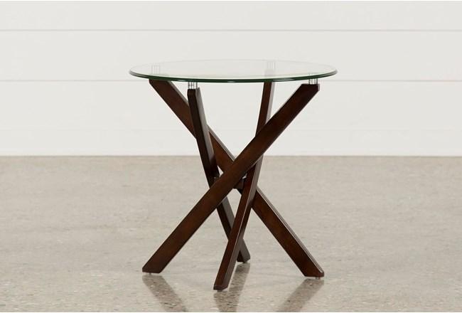 Brisbane Round End Table - 360