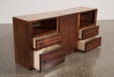 Sedona Twin Storage Dresser Junior Loft Bed - Top