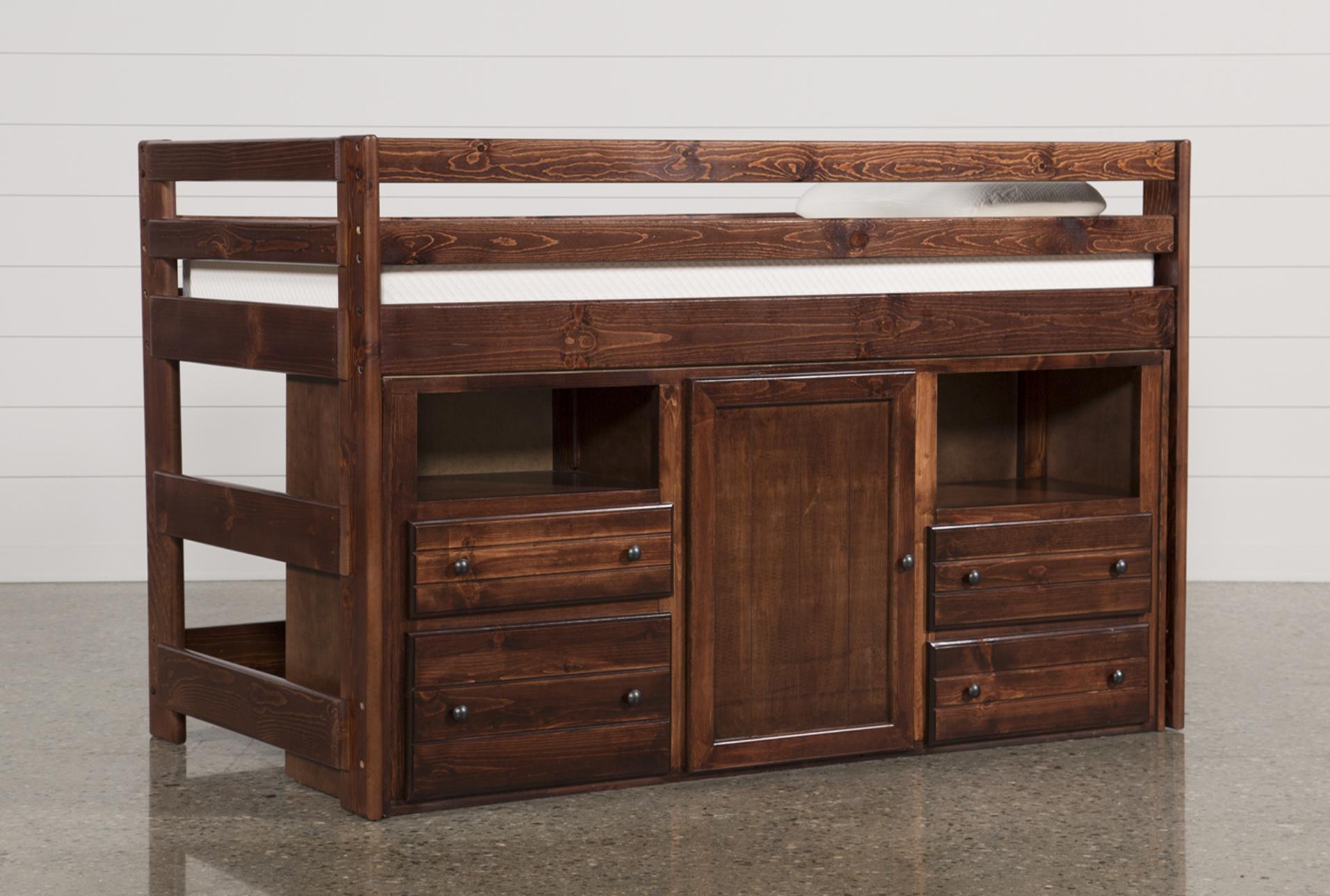 Sedona Junior Loft Storage Bed Living Spaces