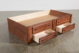 Sedona 2-Drawer Captains Trundle - Top