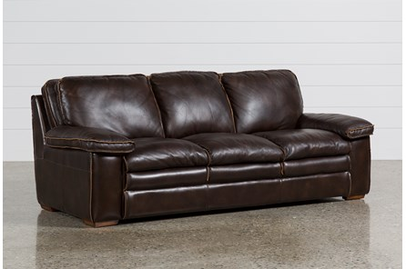 Walter Leather Sofa | Living Spaces