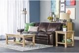 Walter Leather Sofa - Room