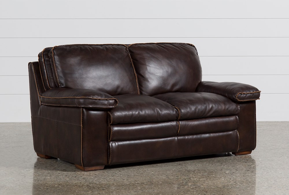Walter Leather Loveseat