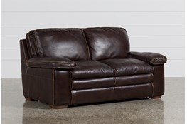 "Walter Leather 68"" Loveseat"