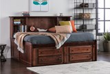Sedona Full Roomsaver Bed With 2- Drawer Captains Trundle - Room