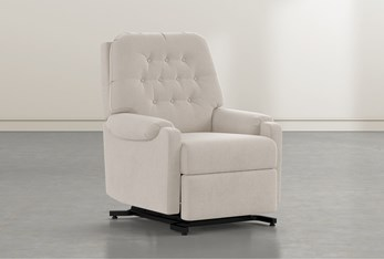 Amelia Taupe Power-Lift Recliner