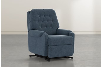 Amelia Denim Power-Lift Recliner