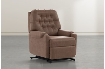 Amelia Brown Power-Lift Recliner