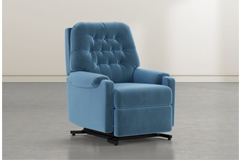 Amelia Navy Power-Lift Recliner