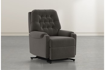 Amelia Dark Grey Power-Lift Recliner