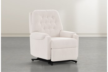 Amelia Ivory Power-Lift Recliner