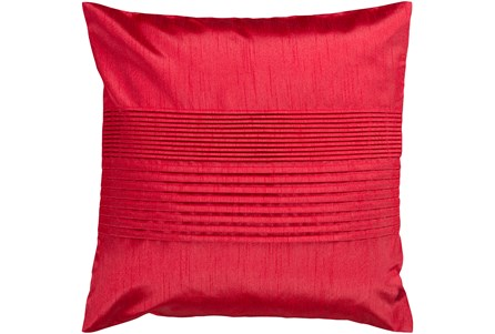 Accent Pillow-Red 18X18 - Main