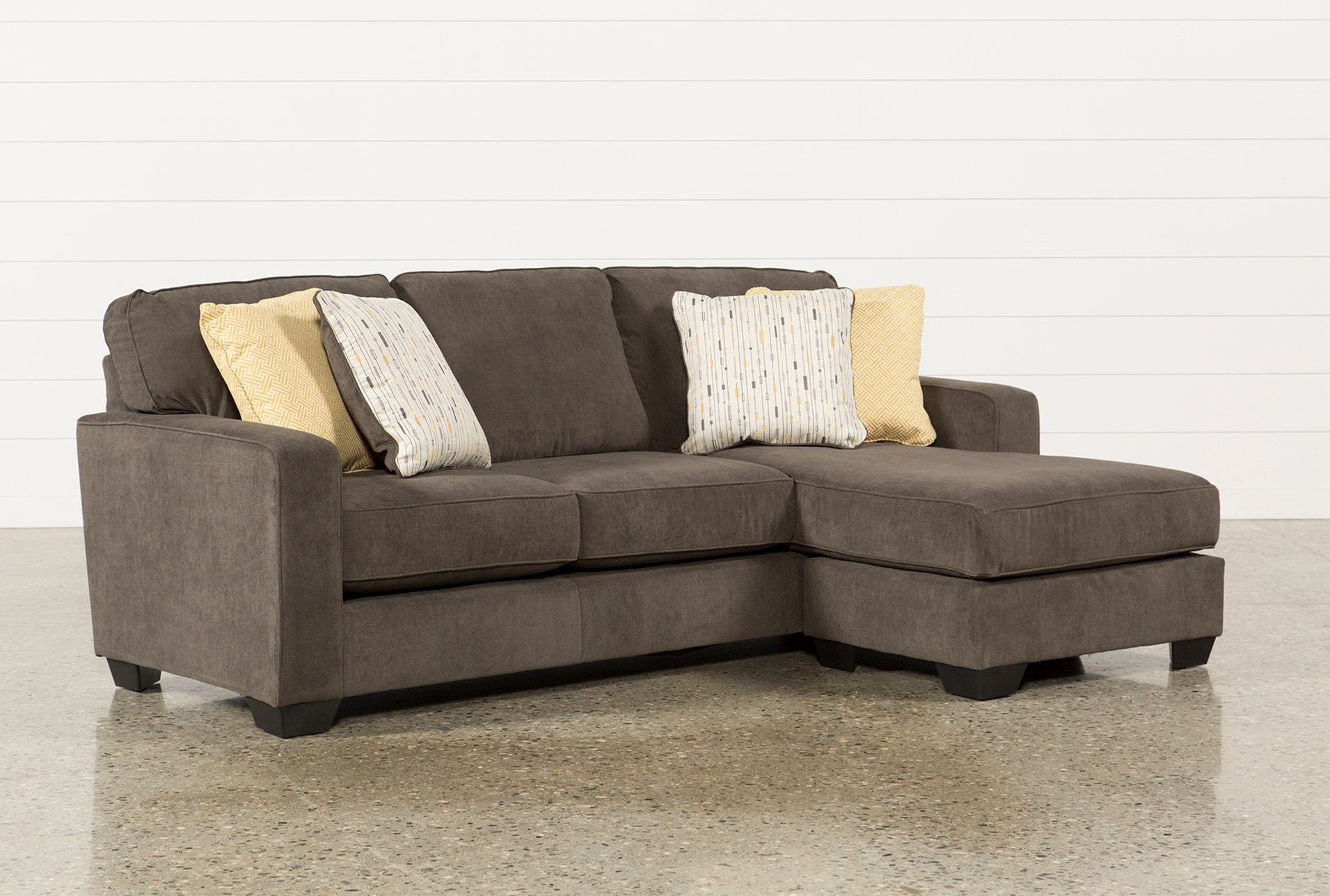 Sofa chase zella sofa chaise sectional andrew s furniture for Ashley beige sofa chaise
