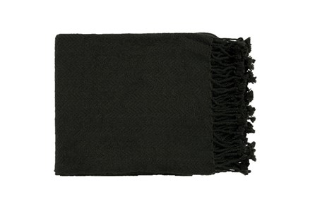 Accent Throw-Lenora Black - Main