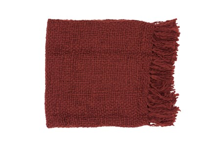 Accent Throw-Jace Burgundy