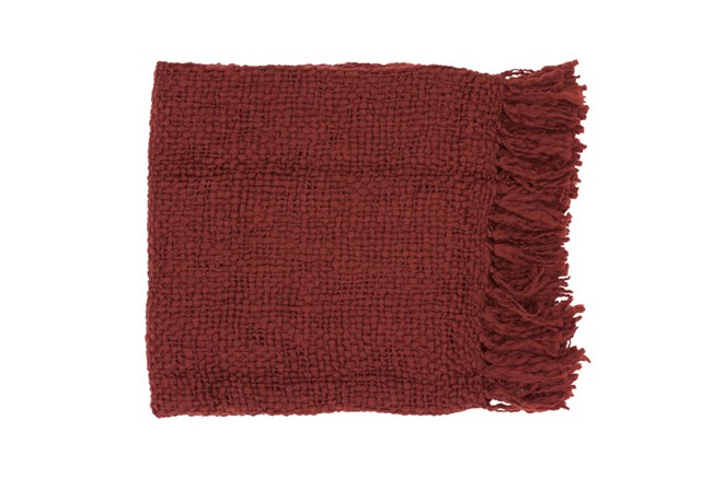 Accent Throw-Jace Burgundy - 360
