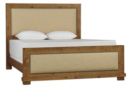 Sinclair Pine Eastern King Panel Bed