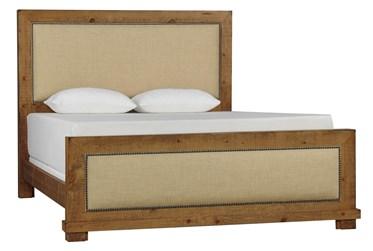 Sinclair Pine Queen Panel Bed