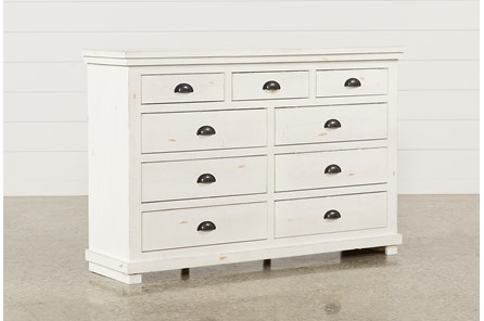 Sinclair White Dresser - Main
