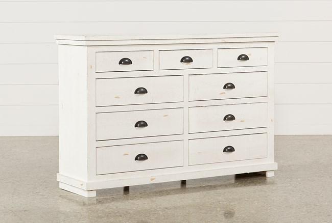 Sinclair White Dresser - 360