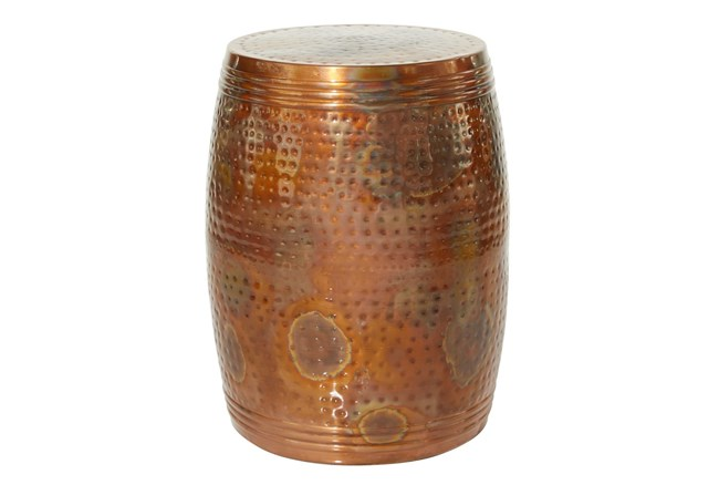 Metal Copper Stool - 360