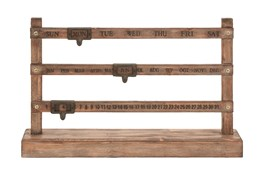 Wood Date Decor