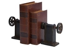 Metal Bookends