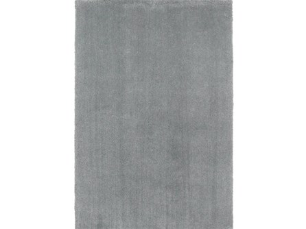 90X114 Rug-Elation Shag Grey