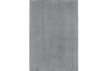 90X114 Rug-Elation Shag Grey - Main