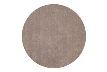 8' Round Rug-Elation Shag Beige