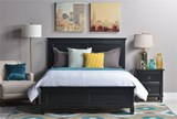 Savannah Queen Panel Bed - Room