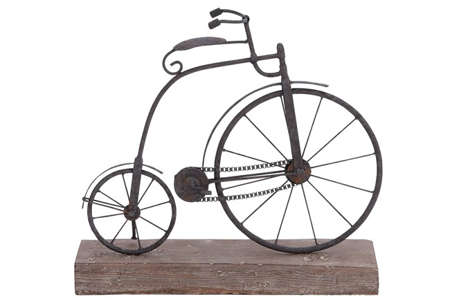 Metal/Wood Bicycle - 360