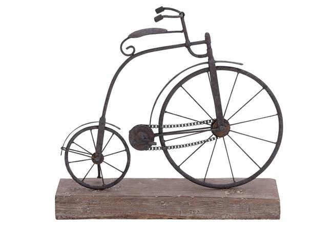 Metal/Wood Bicycle - 360