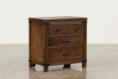 Livingston 3-Drawer Nightstand