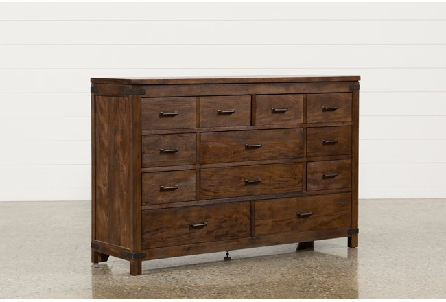 Living Spaces Dressers : Livingston 10-Drawer Dresser  Living Spaces