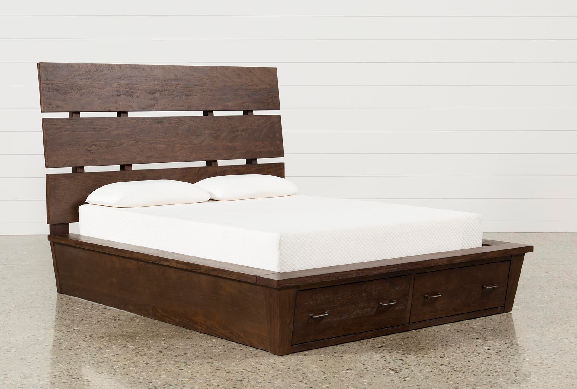 Livingston Queen Storage Bed Living Spaces