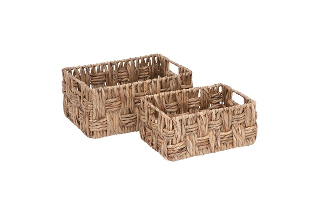 Metal Wicker Baskets - 360