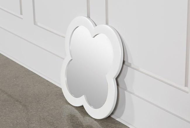 Jolie Nightstand Wall Mirror - 360