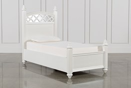 Jolie Twin Poster Bed
