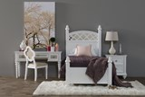 Jolie Twin Poster With 1 Side Storage Bed - Room
