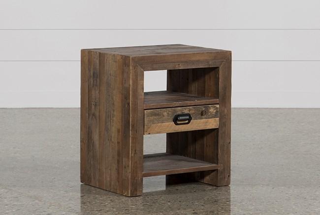 Tahoe II 1-Drawer End Table - 360