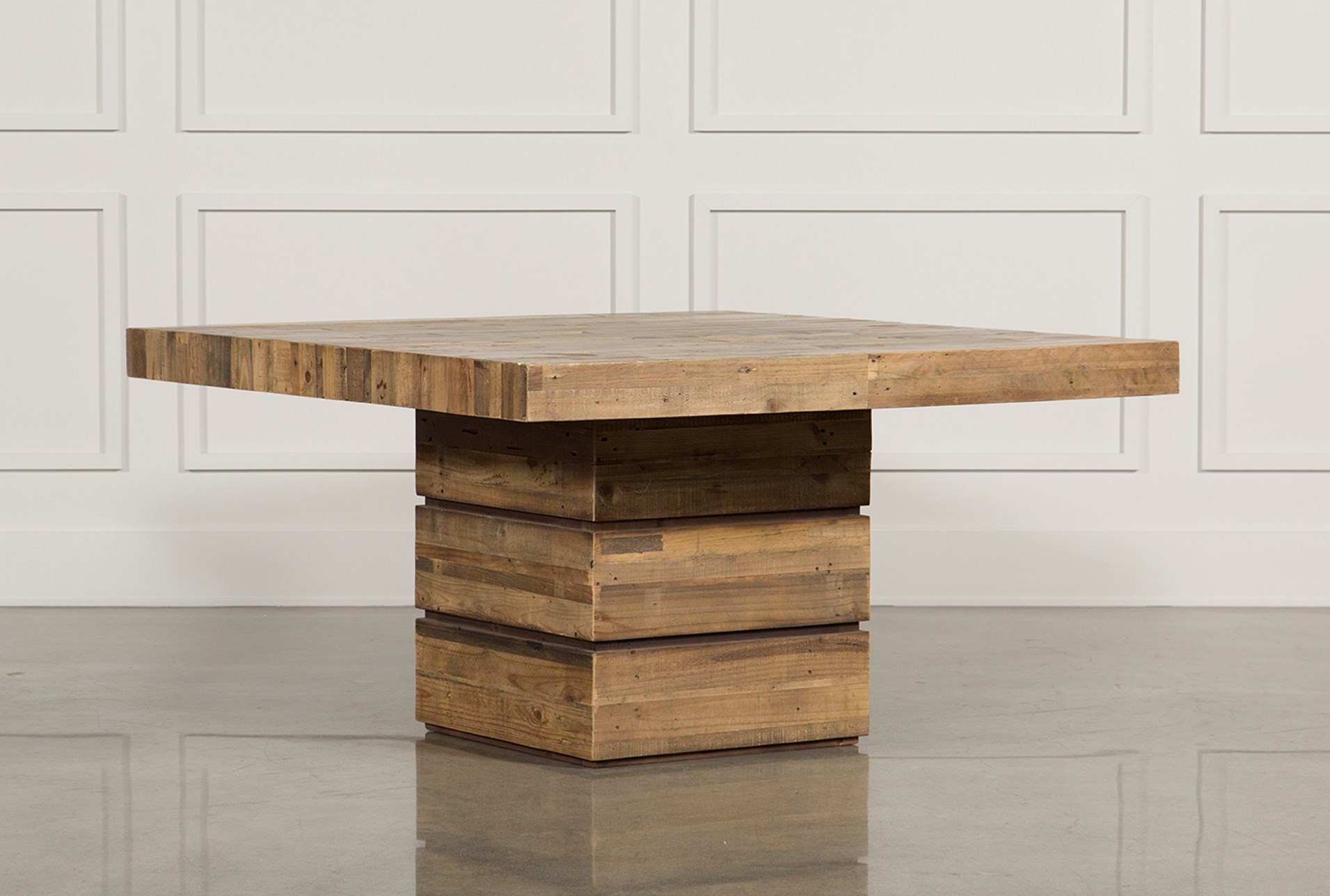 tahoe ii 58 inch square dining table living spaces